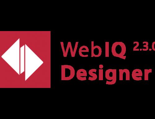 WebIQ 2.3 verfügbar- Blick auf Release